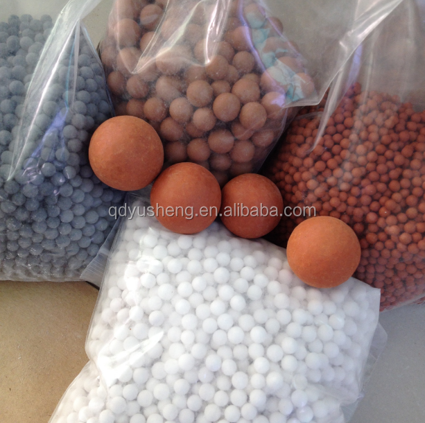 natural mineral ceramic ball for shrimp ceramic substrate / mineral ball for aquaculture tank