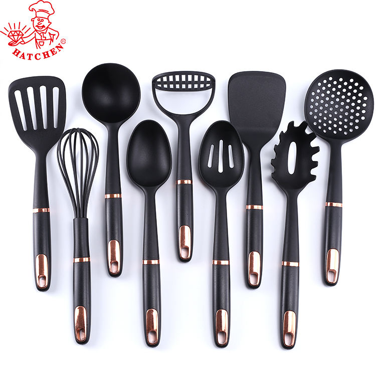 7 pcs ABS handle nylon kitchen utensils and gadget