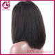 best quality 100% human hair short bob lace front yaki wig for african women