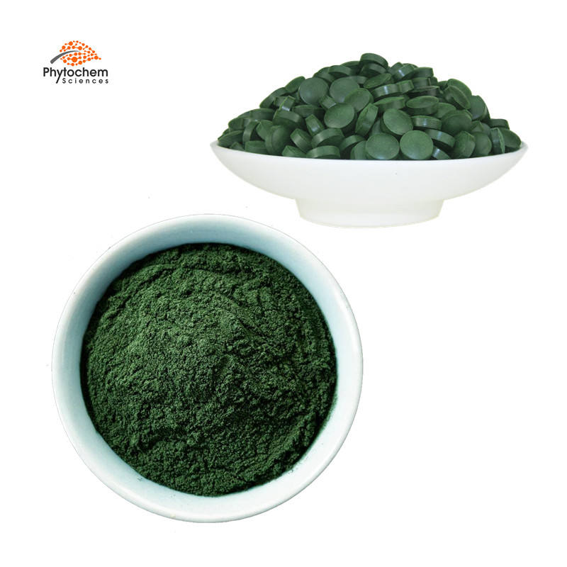 Private label bulk superfood producers natrual organic spirulina powder