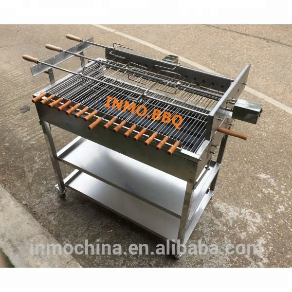 3 In line Extra Large Cyprus Grill BBQ (Stainless steel)