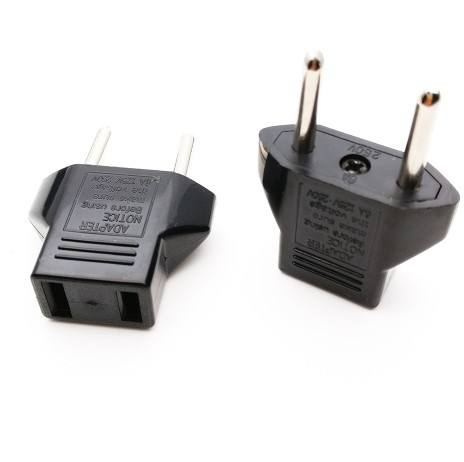European EU German Plug Adapter US JP American China To Europe Euro Travel Power Adapter Plug Outlet Converter Socket