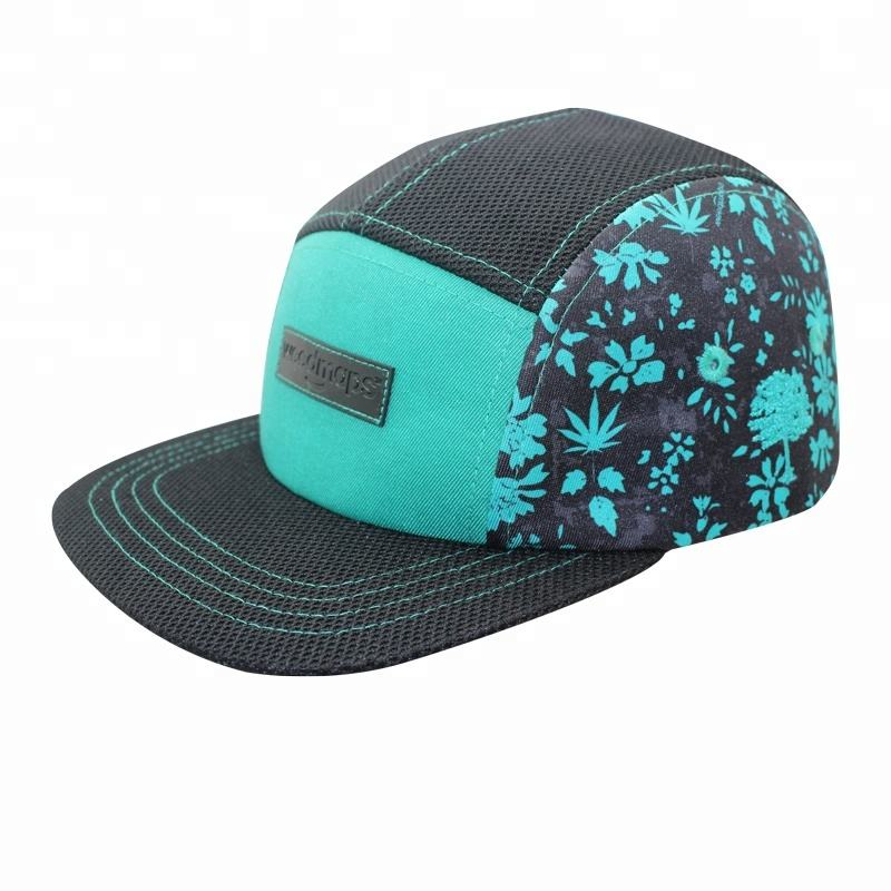 Promosi Modis 5 Panel Camp Topi Tutup Blank Pria