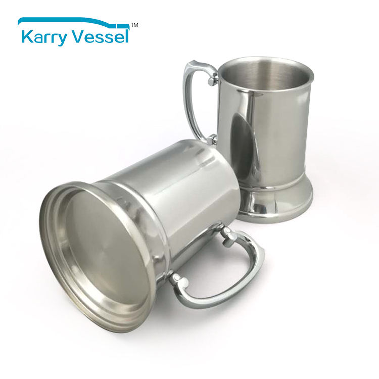 Stainless Steel Pint Cangkir 450 Ml Gelas Bir, Bir Mug
