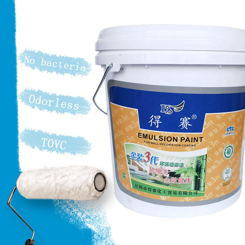 Interior Wall Coating Latex Emulsion Paint, Wall Paint for Interior Decoration//
