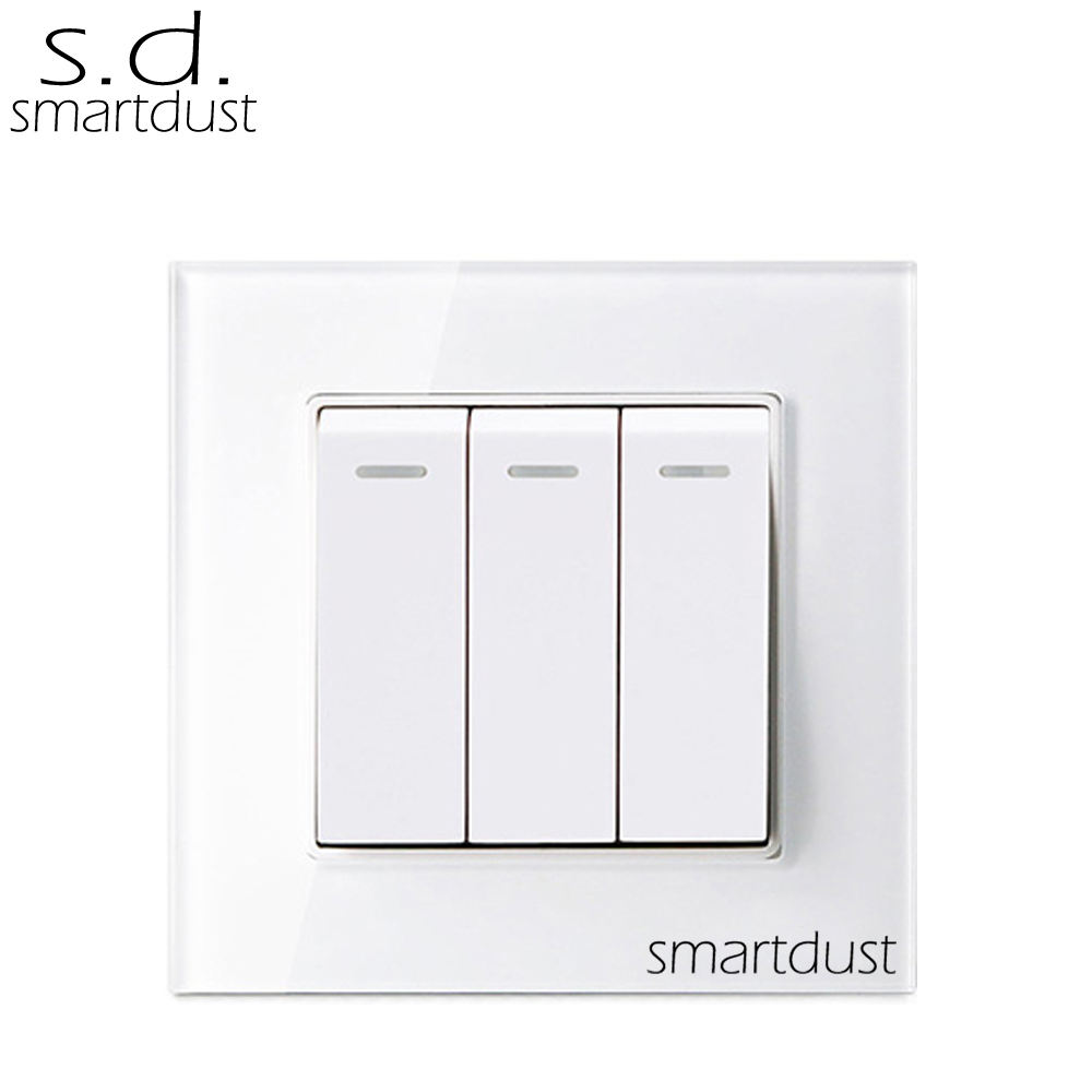 Smartdust Crystal Homekit 16A Traditional Light Switch