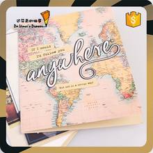 Map Design Paper Greeting Card with cheap price