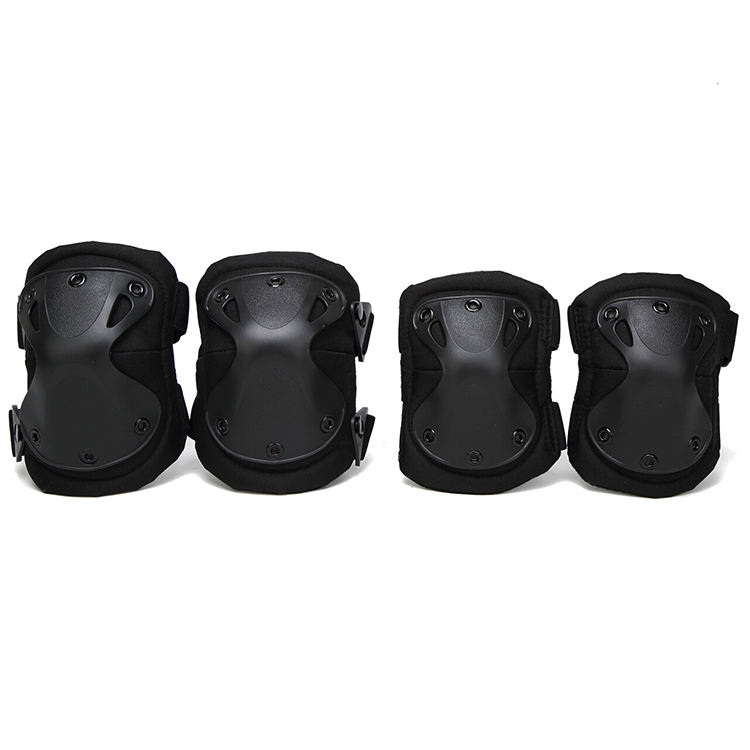 multifunctional shockproof paintball cycling knee and elbow pads camo security tactical military elbows knee pads