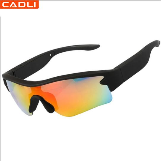 BS01B الصين الصانع عصري مخصص الرياضة بلوتوث النظارات الشمسية للرجال