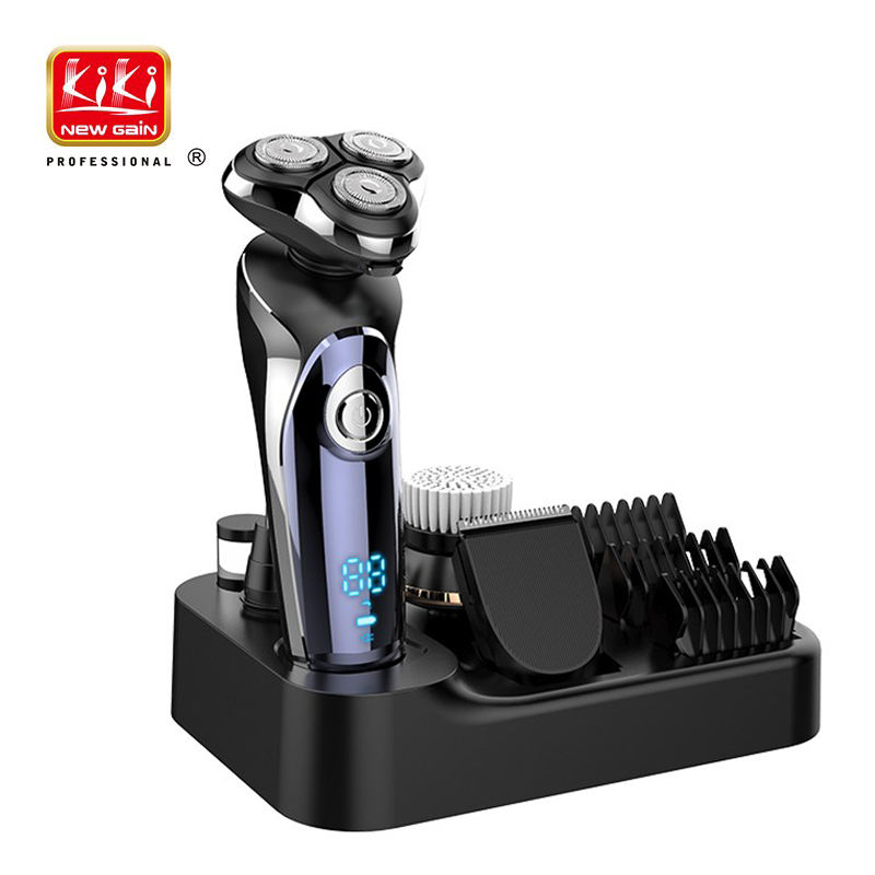 KIKI NEW GAIN Electric Professional 4 in 1 Rechargeable Shaver Hair Trimmer For Men