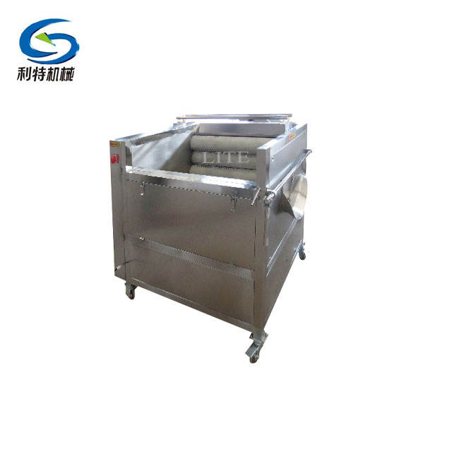 Low energy consumption potato washing and peeling machine