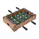 Adults and Kids Two Balls and Score Keeper Tabletop Foosball Table- Portable Mini Table Football / Soccer Game Set