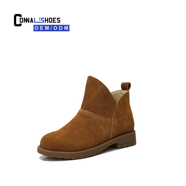 Connal big girl Kids England fashion style leather girls chelsea boots