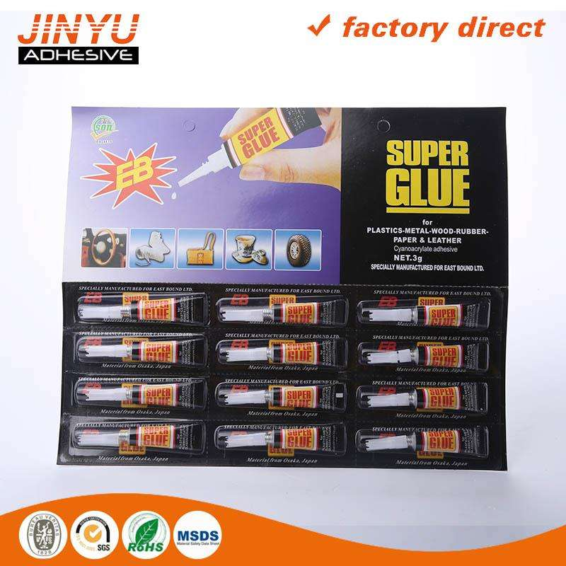 Professional Adhesive Factory 3 seconds quick dry 502 supper glue 4g 5g