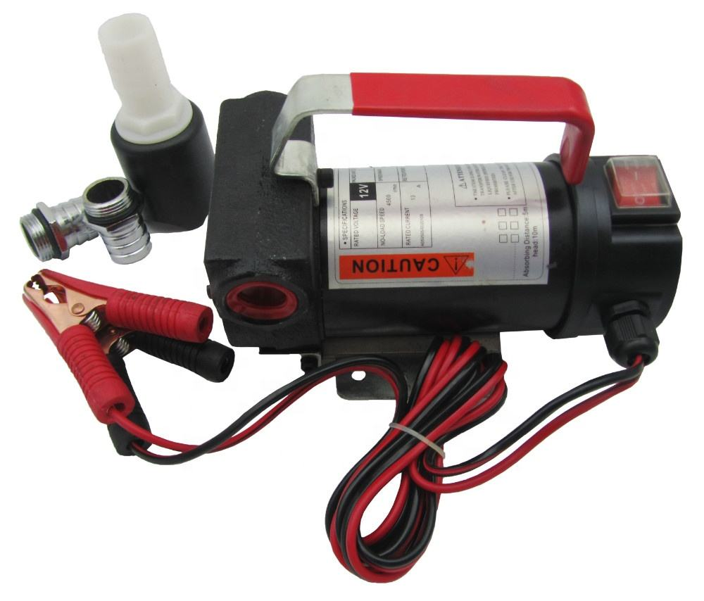 Singflo 12-volt fuel transfer pump-portable diesel transfer pump-12v electric oil pump