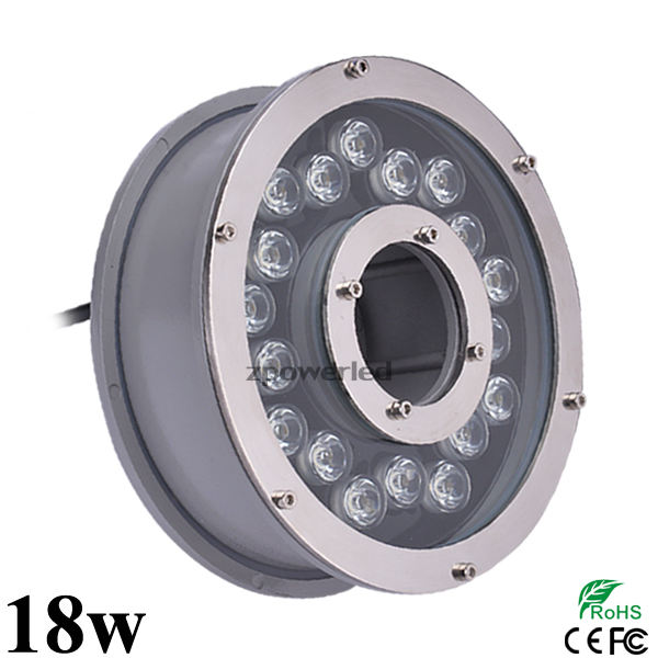 Best Seller Aluminum Body IP68 6w Water Fountain Jet Led Light