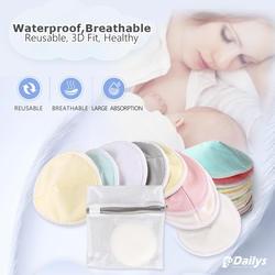 waterproof wholesale washable bamboo nursing pad