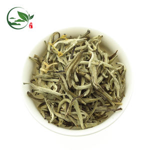 First Grade Imperial Certified Organic Fuding Jasmine Flower Silver Needle Natural Chun Yin Hao Scented Jasmine Beads Tea Blooms