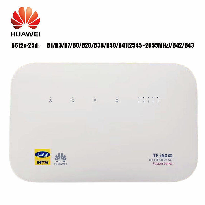 Huawei B612 4 gam LTE Cat.6 CPE WiFI Router Huawei B612s-25d LTE 300 Mbps CPE Router Không Dây