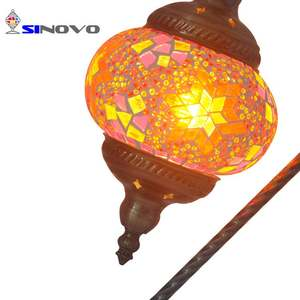 Hot Sale Turkish Mosaic Glass LED Table Lamp Shade Decoration Lamp