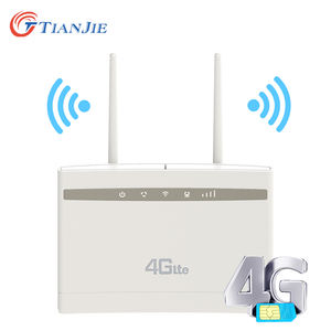 TIANJIE 4g lte router wireless con antenna 4g lte cpe router wifi hotspot sim router wireless CPE Globale applicazione CP100
