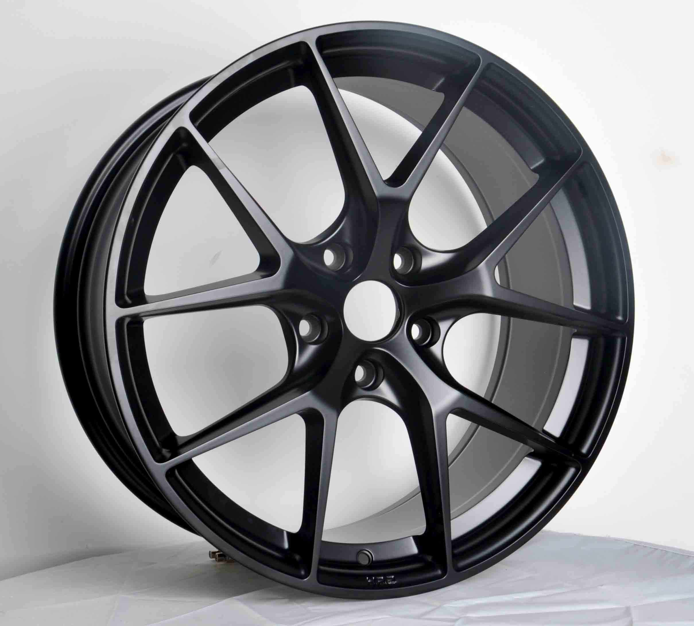 Black aftermarket 15 17 18 19 inch aluminum alloy wheel rims for car with PCD 5x120