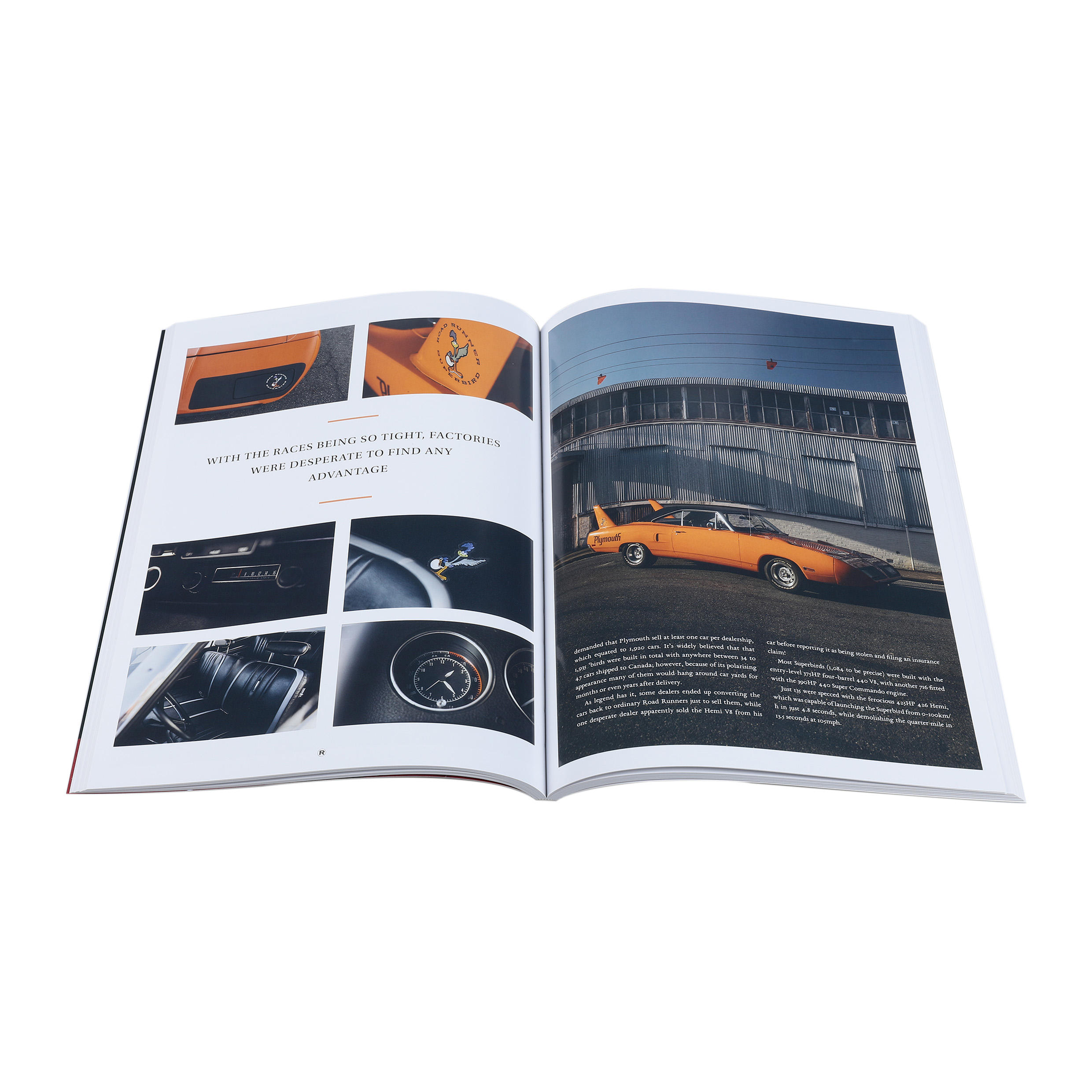 Full color softcover book cheap magazine printing