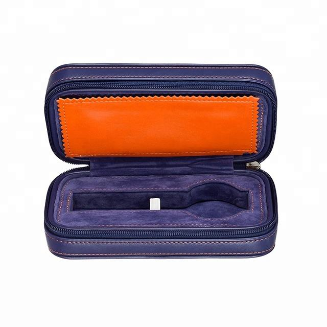 ISO BSCI factory eco friendly recycled leather watch packaging box and luxury watch boxes case and waterproof travel watch case