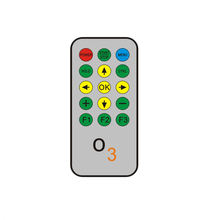 mini CR2025 IR RF custom function remote control