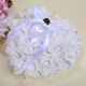 ring Cushion wedding hot selling ring pillow with heart shape of rose package box