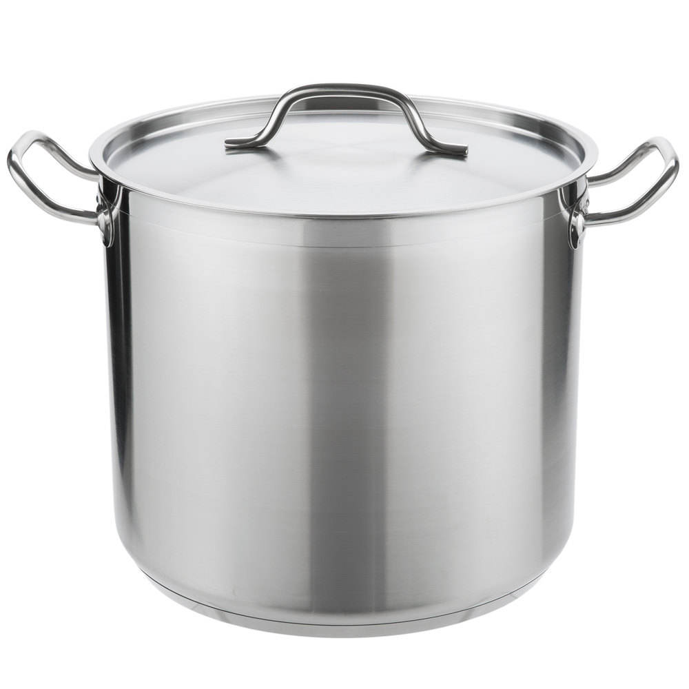 NSF & Induction Commercial stainless steel stockpot for restaurant