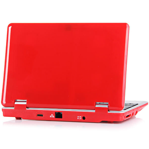 Termurah 7 inch mini laptop komputer notebook Spanyol keyboard laptop colorful terbaik cina laptop