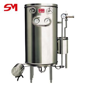 Stainless steel fashionable appearance htst pasteurizer