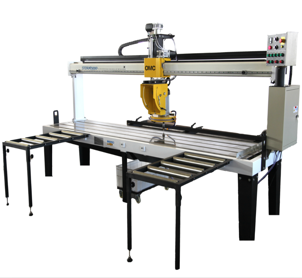 OSC-SP CE 380V multifunction long workbench stone cutting machine
