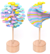 Hot Selling Puzzle Decompression Magic Rotating Lollipop Toy For Kids