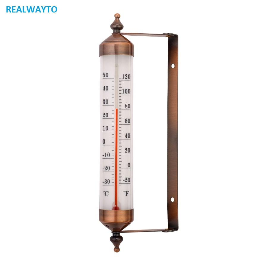 Top Sale Durable Cheapest Price Decorative Garden Household Outside Thermometer