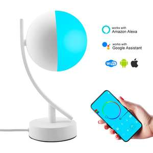 Google Home Wifi Controlled Table Lamp With Usb Port Touch Led Smart Table Lamp