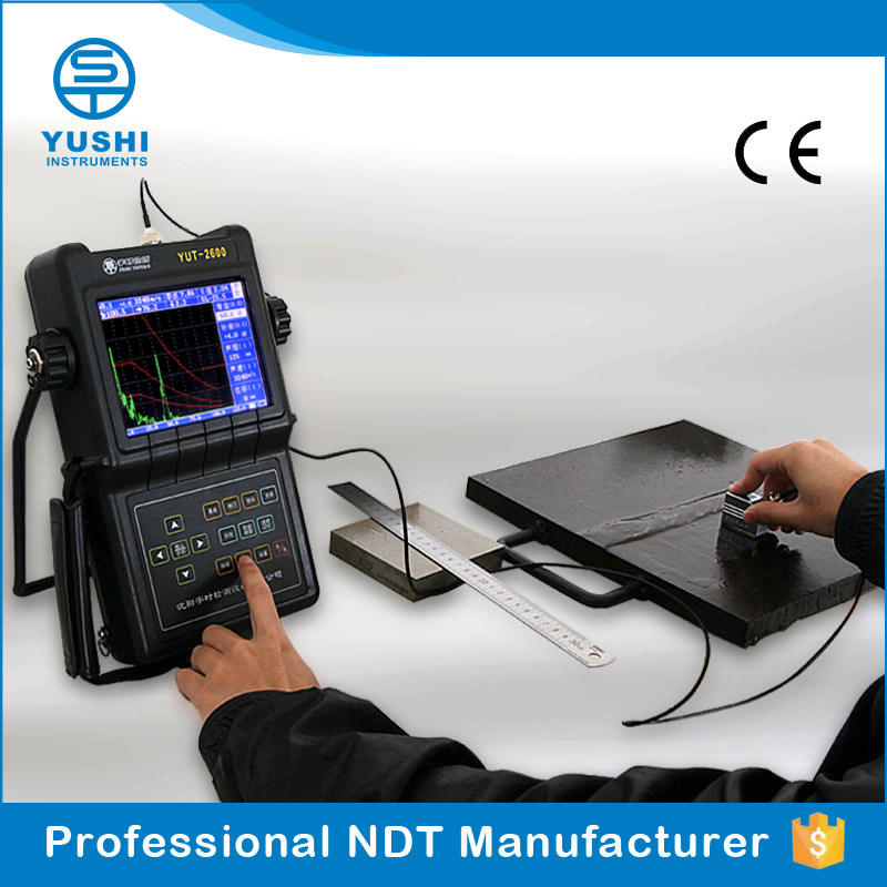 Digital Ultrasonic Flaw Detector Metal Calibration Test Equipment for Pipeline Inspection