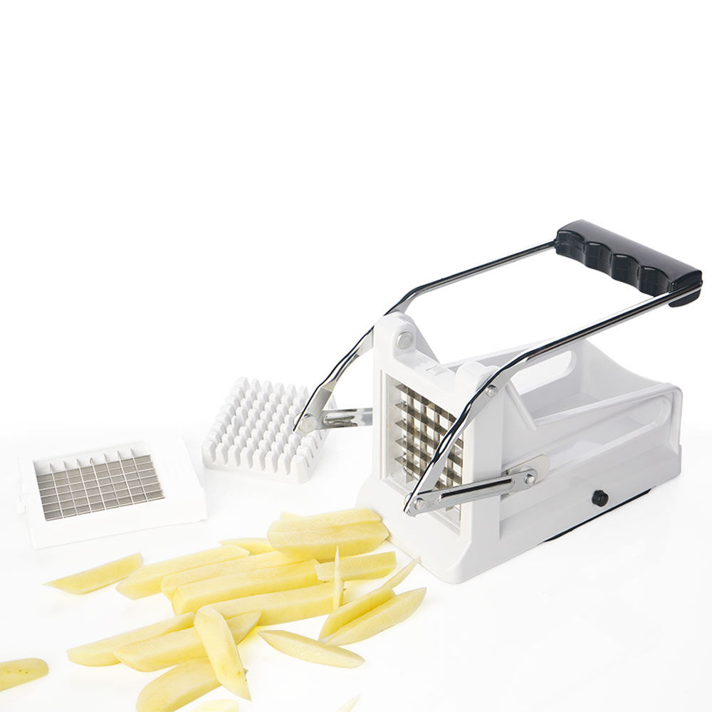 F-1029 Kitchen Manual Stainless Steel 2 Blades Potato Chipper Potato Cutter for French Fry