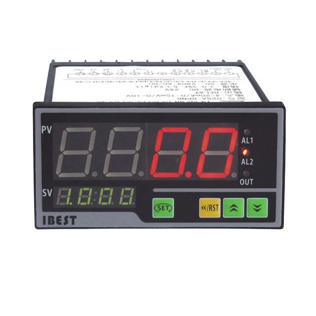 IBEST DN8 4-20mA Uscita Analogica 4 Display A LED DC24V AC220V Digitale <span class=keywords><strong>di</strong></span> <span class=keywords><strong>Umidità</strong></span> <span class=keywords><strong>di</strong></span> Temperatura Sensore <span class=keywords><strong>di</strong></span> Livello <span class=keywords><strong>di</strong></span> Acqua <span class=keywords><strong>di</strong></span> Pressione <span class=keywords><strong>Indicatore</strong></span>