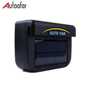 Auto cool solar power car fan ,N6L7u ventilation air cooler car fan