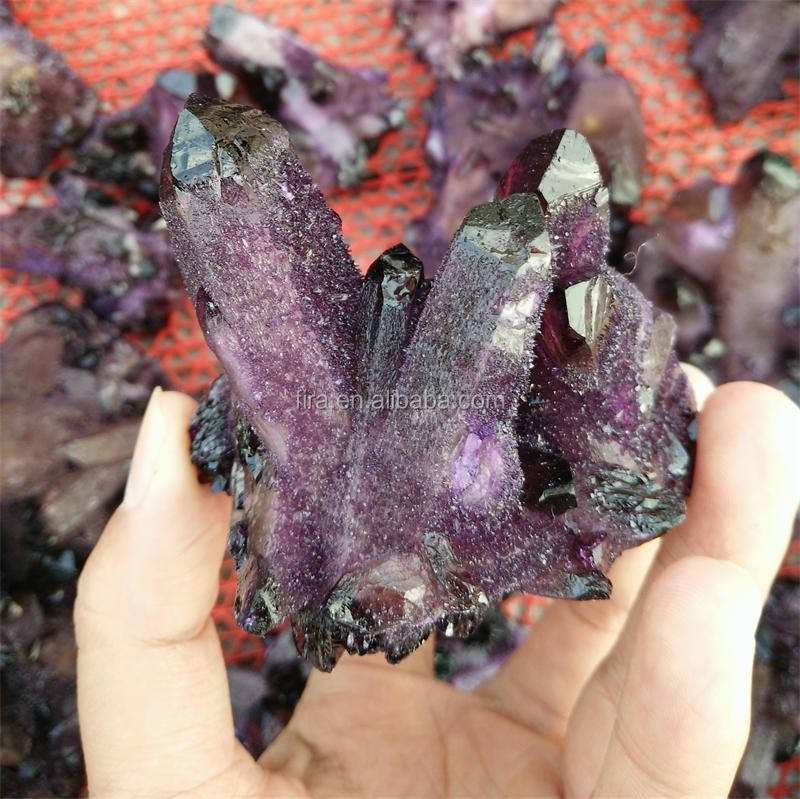 Uva por mayor RAW Amethyst Geode, Cuarzo Natural crystalamethyst Geode Cluster