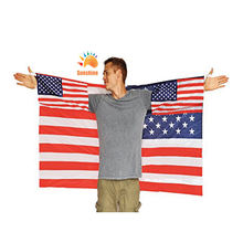 High quality China manufacture US American body flags and other countries body cloth