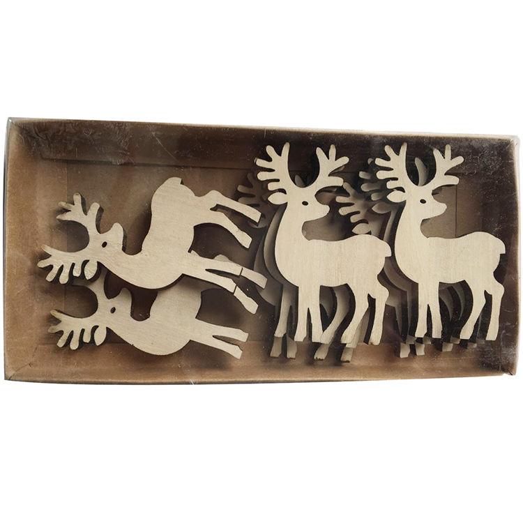 <span class=keywords><strong>Bois</strong></span>é artisanat de noël suspendus décoration