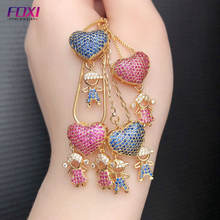 fashionable gold plated boy and girl children kids jewelry