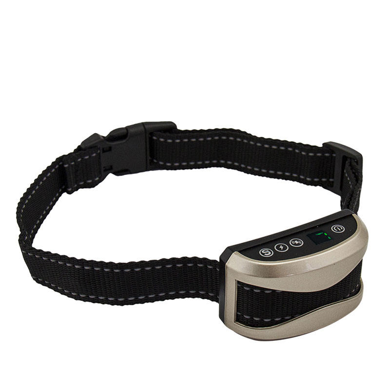 À prova d' água Dog Training Collar Controle Anti Bark No Stop Barking Dispositivo Sem Choque