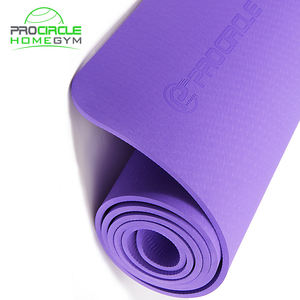 Procircle Custom Nature Rubber TPE Mat Yoga Yoga Mat with Carrying Strap