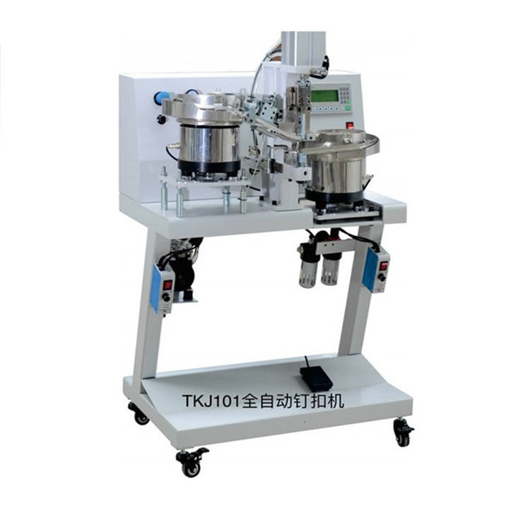 Fully Automatic Snap Fastening Machine Industrial Buttonhole Machine