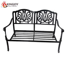 Outdoor Cast aluminum Garden Sofa with Two Seater