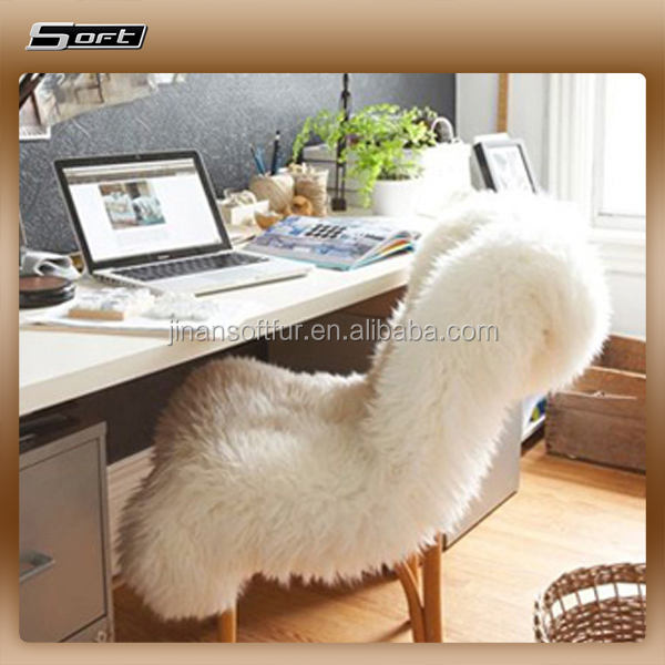 100% australian natural soften long haired sheepskin fur carpet for kids play